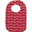Bib - Baby size paprika petal - PPMC