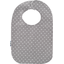 Bib - Baby size light grey spots - PPMC