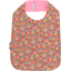 Bib - Child size peach flower - PPMC