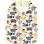 Bavoir Enfant mouton jaune - PPMC
