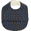 Coated fabric bib glittering heart - PPMC