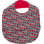 Coated fabric bib poppy - PPMC