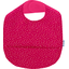 Coated fabric bib etoile or fuchsia