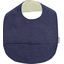 Coated fabric bib navy gold star - PPMC
