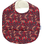 Coated fabric bib vermilion foliage - PPMC