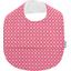 Bavoir tissu plastifié  fleurette blush - PPMC