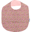 Coated fabric bib pink jasmine - PPMC