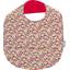 Bavoir tissu plastifié oeillets jean - PPMC