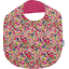 Coated fabric bib purple meadow - PPMC