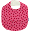 Coated fabric bib ladybird gingham - PPMC