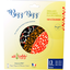 Lot de 3 bee wrap Bizz-bizz® ronds graines