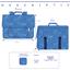 Kids satchel bag triangle or poudré