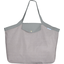 Tote bag with a zip etoile or gris - PPMC
