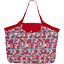 Tote bag with a zip kokeshis - PPMC