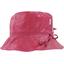 Chapeau pluie ajustable T2  fuchsia argent - PPMC