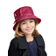 sombrero de lluvia ajustable T2  fucsia plateado