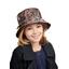 Rain hat adjustable-size 2  multi letters