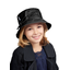Rain hat adjustable-size 2  black