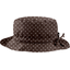 Rain hat adjustable-size 2  brown spots - PPMC