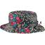 Chapeau pluie ajustable T2  rose argentée - PPMC