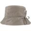 Chapeau pluie ajustable T2  taupe argent - PPMC