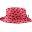 Rain hat adjustable-size 2  ladybird gingham - PPMC