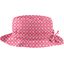 Rain hat adjustable-size T3 small flowers pink blusher - PPMC