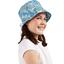 Chapeau de soleil ajustable T1 à T2 forêt bleue