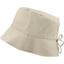 Chapeau de soleil ajustable T1 à T2 taupe argent - PPMC