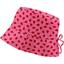 Chapeau de soleil ajustable T1 à T2 vichy coccinelle - PPMC