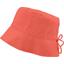 Chapeau de soleil enfant gaze dentelle corail - PPMC
