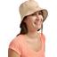 Chapeau de soleil ajustable T3 pois cuivré rose