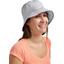 Chapeau de soleil ajustable T3 pois gris clair