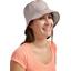 Chapeau de soleil ajustable T3 taupe argent
