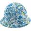 Chapeau soleil charlotte ajustable forêt bleue