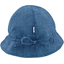 Chapeau soleil charlotte ajustable jean fin - PPMC