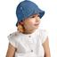 Chapeau soleil charlotte ajustable jean fin