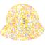 Chapeau soleil charlotte mimosa jaune rose - PPMC