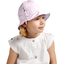 Chapeau soleil charlotte ajustable oxford rose