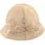 Chapeau soleil charlotte ajustable pois cuivré rose - PPMC