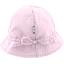 Chapeau soleil charlotte ajustable vichy rose - PPMC