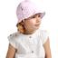 Chapeau soleil charlotte ajustable vichy rose
