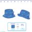 Rain hat adjustable-size 2  caramel