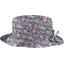 Chapeau pluie ajustable T2  london fleuri - PPMC