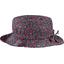 Chapeau Pluie Ajustable Femme T3 camelias rubis - PPMC