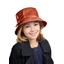 Rain hat adjustable-size T3 caramel