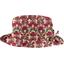 Chapeau Pluie Ajustable Femme T3 coquelicot - PPMC