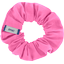 Small scrunchie pink - light cotton canvas