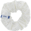 Small scrunchie white sequined - PPMC