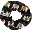 Small scrunchie black elephant - PPMC